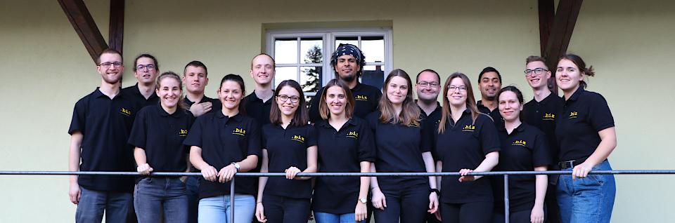 Gruppenfoto vom Fachschaftsseminar